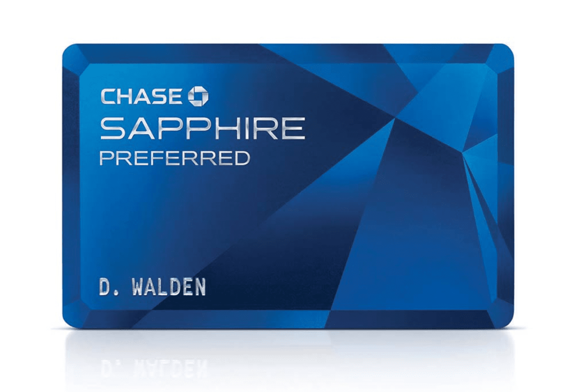 image of chase sapphire card
