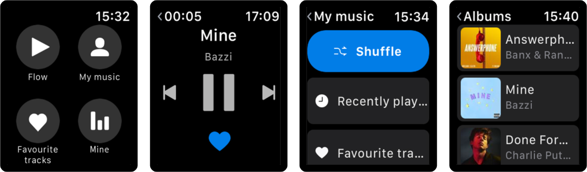 Deezer Adds New Features to Apple Watch App