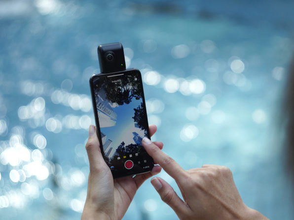 Turn Your iPhone Into a 360 Degree 4K Camera: $199