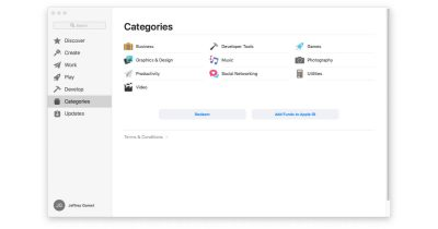 Apple removes some categories from Mac App Store