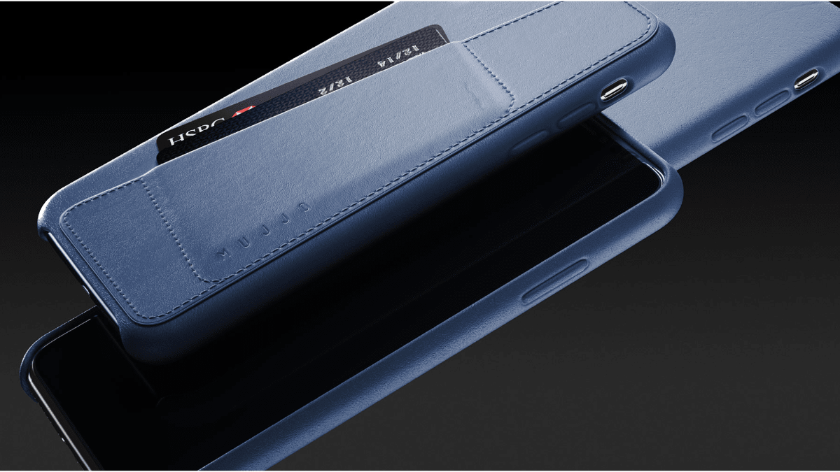 Mujjo Has a New Line of Blue Leather Cases