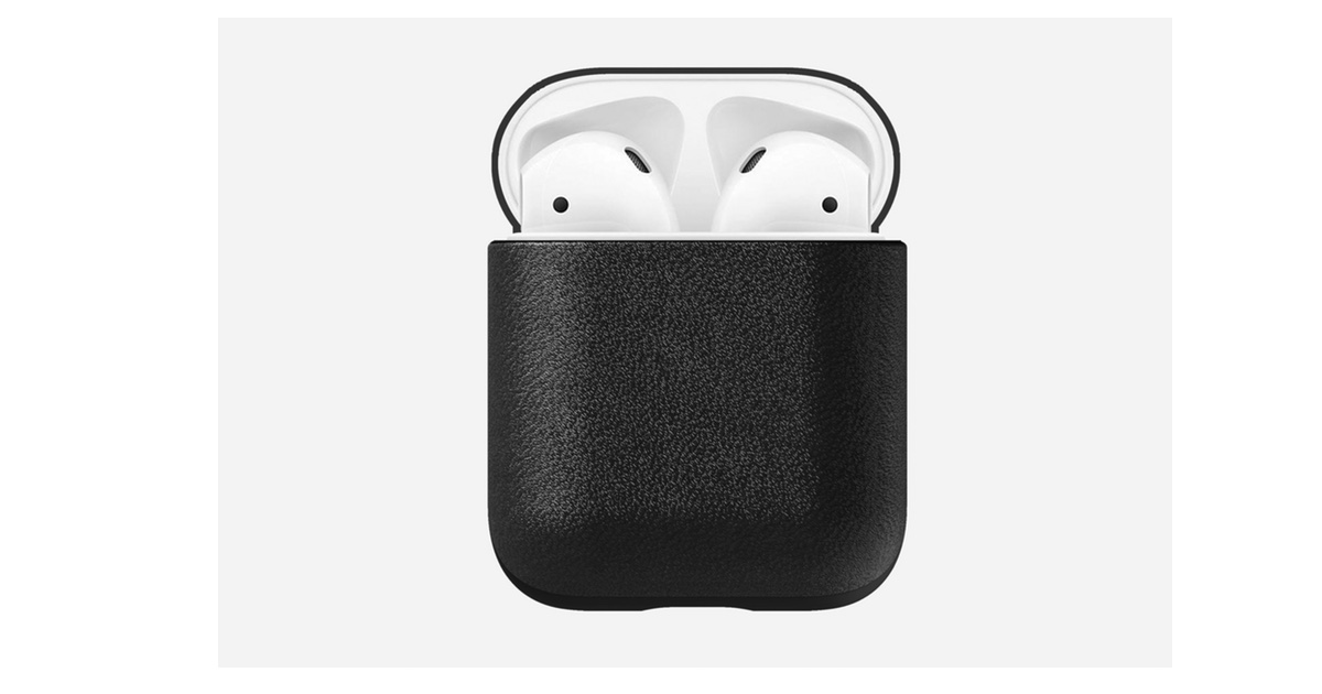 Stylish New Leather AirPods Case