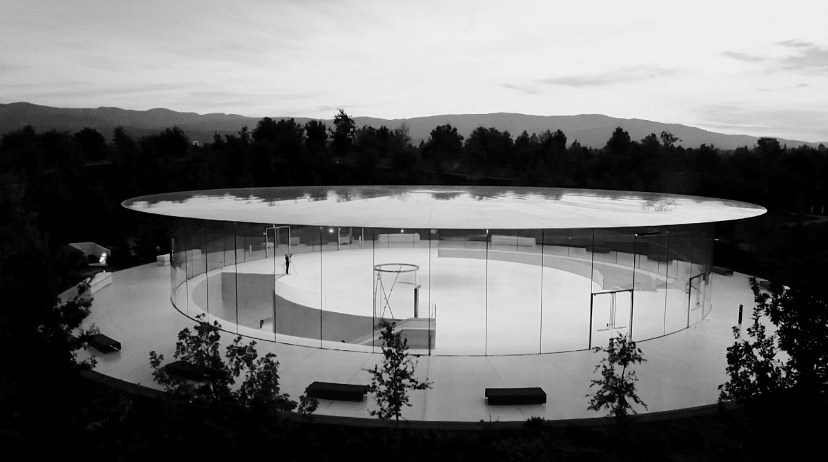 image of steve jobs theater
