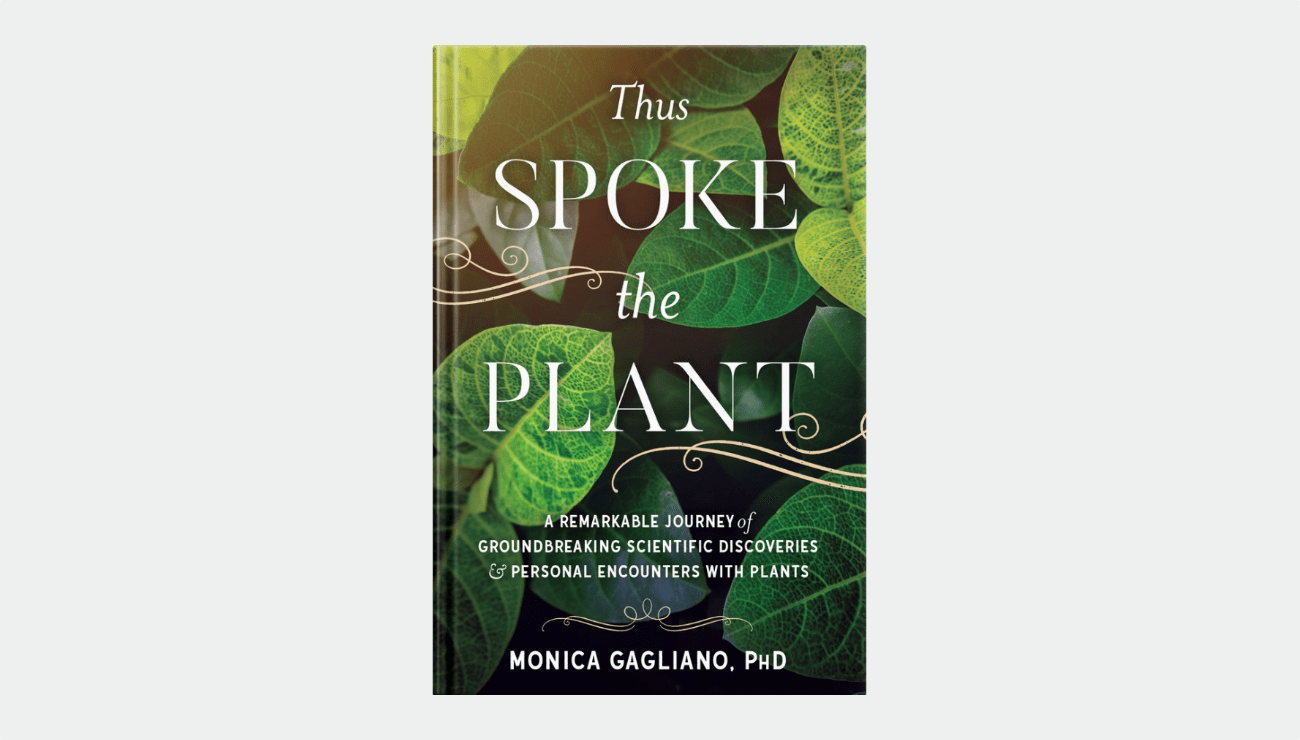 Book: Thus Spoke the Plant by Monica Gagliano