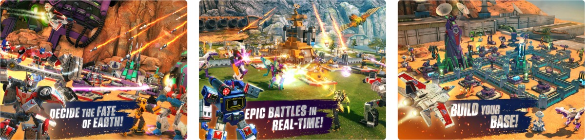 Transformers iOS App Launches Raid Battles