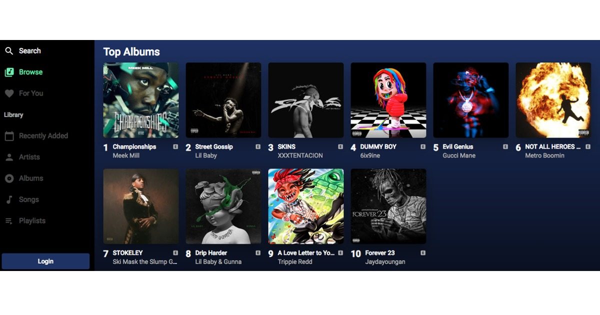 Apple Music Web Player