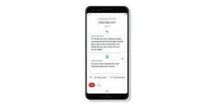 Call Screening on Google Pixel 3