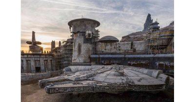 Disney Millennium Falcon ride.