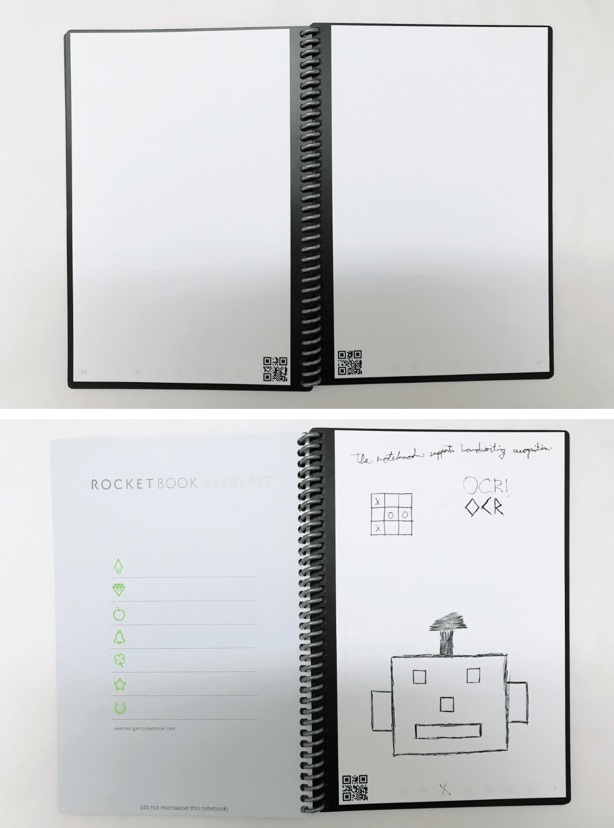 Image of the rocketbook reusable notebook