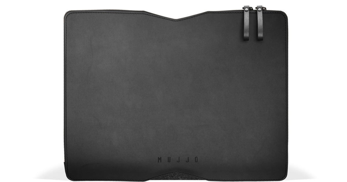 Mujjo Folio Sleeve for the New 13″ MacBook Air and Pro