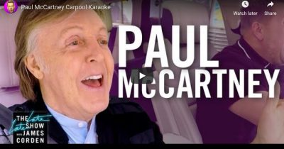 Paul McCartney Carpool Karaoke