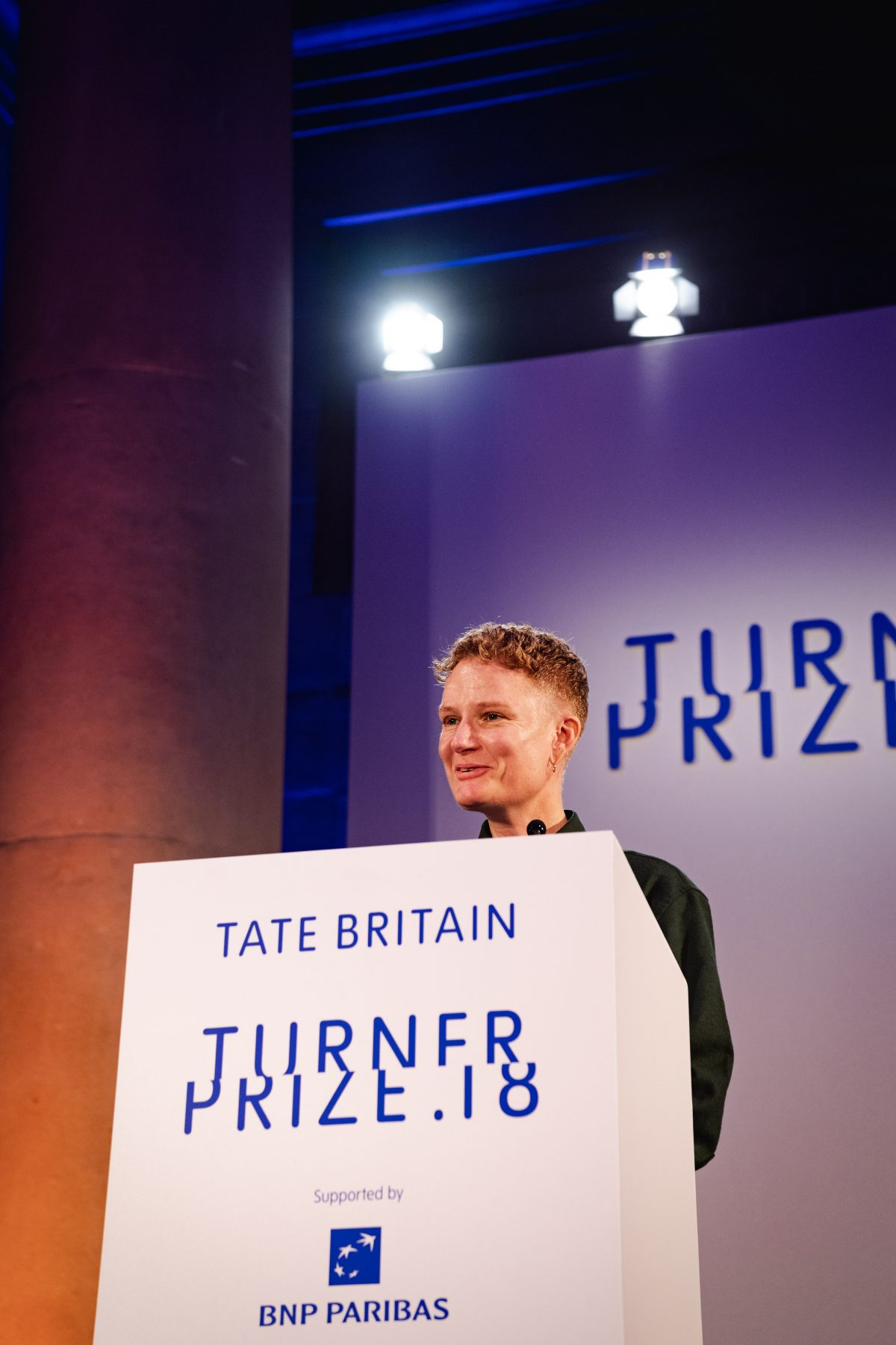 Charlotte Prodger received the Turner Prize