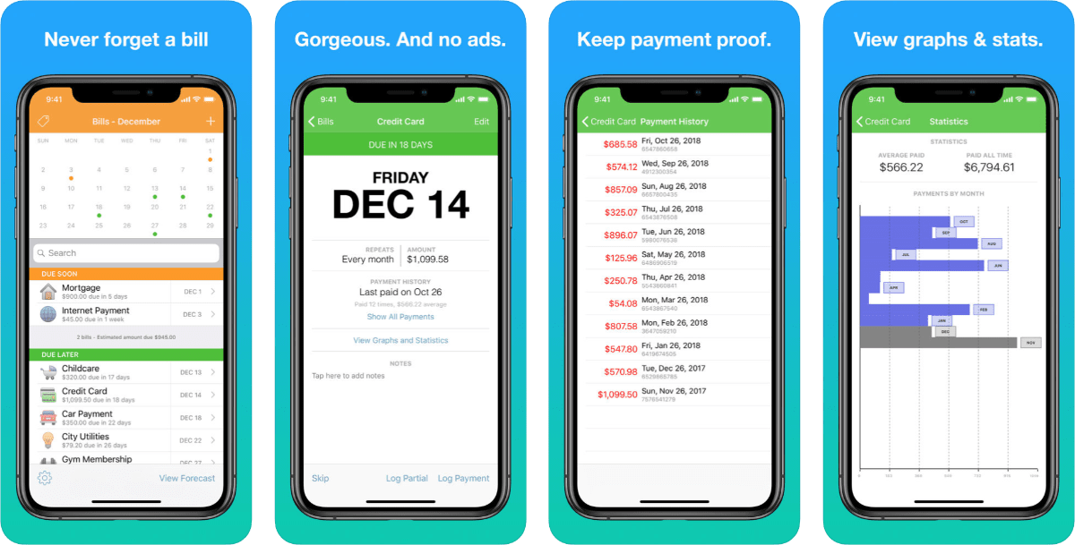Chronicle is a Beautiful App That Gives You Bill Reminders
