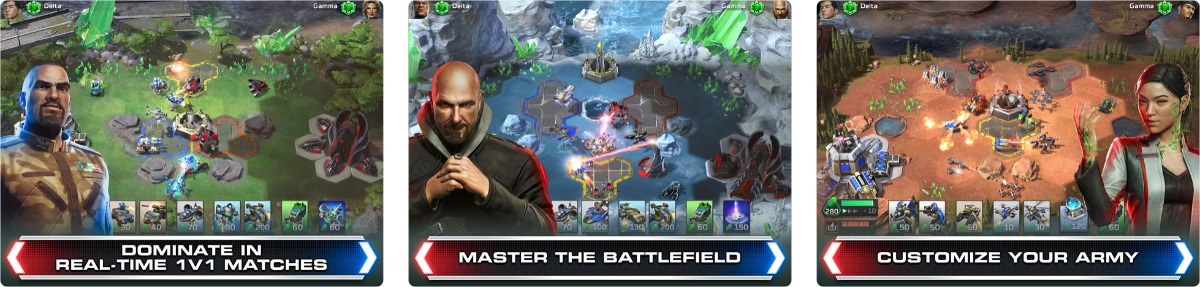 Command & Conquer: Rivals PVP Launches on iOS