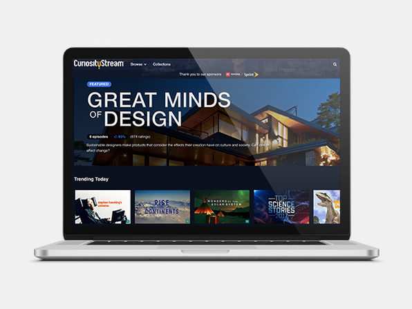 CuriosityStream 2-Year Subscription: $29.99