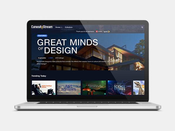 CuriosityStream 2-Year Subscription: $29.99