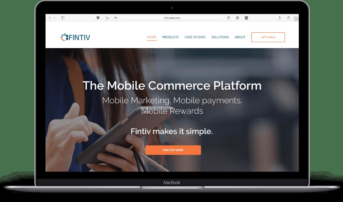 image of fintiv's website