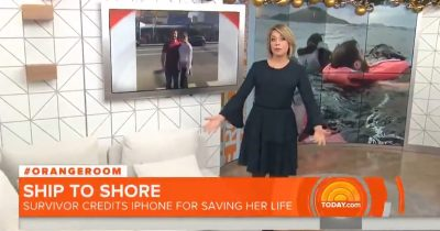 iPhone saved shipwrecked group