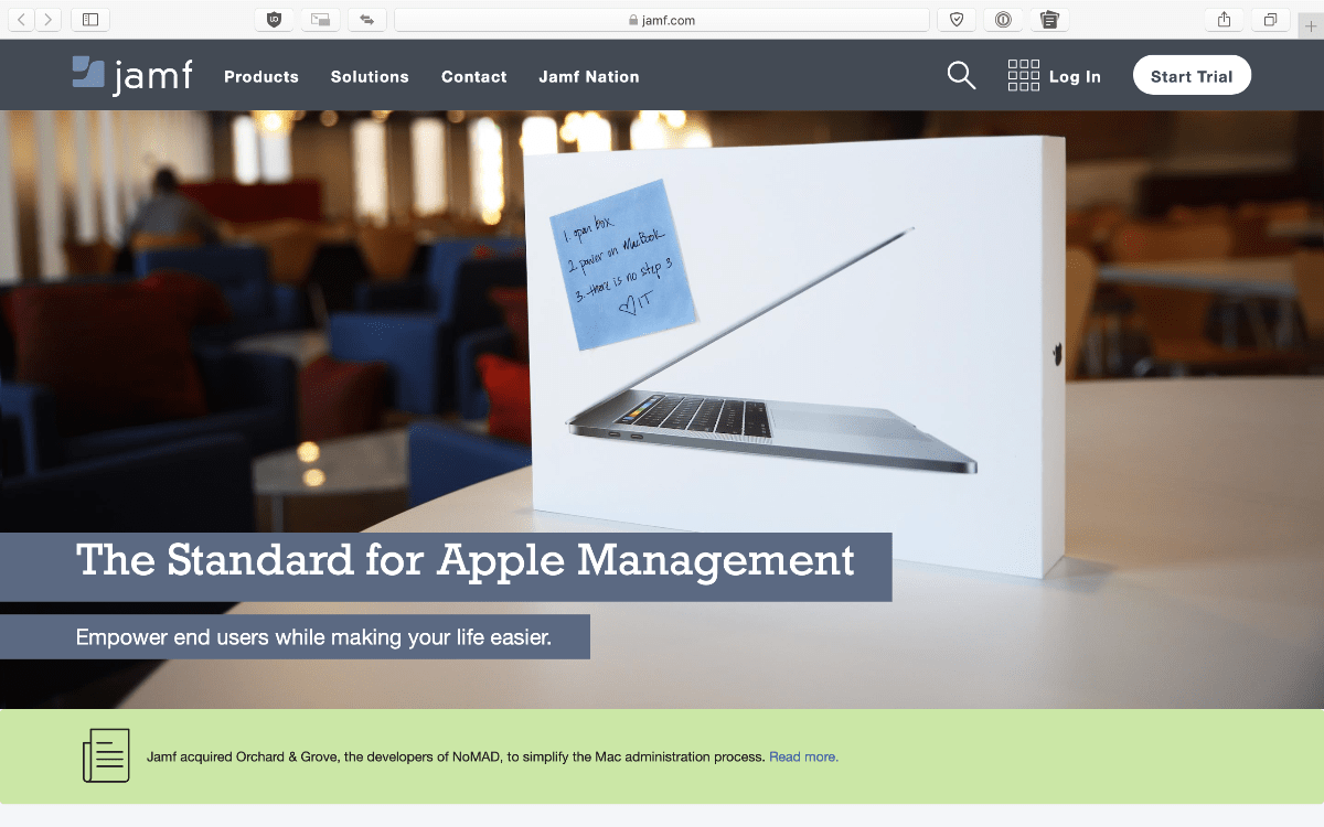 jamf website