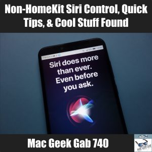 Siri on non-HomeKit Devices