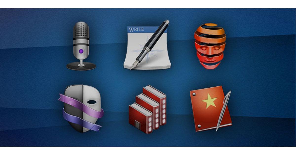 The Storyteller's Essential Mac Bundle: $15.99