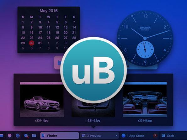 uBar 4 Toolbar, a Dock Replacement for Mac: $15