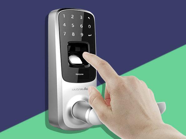 Ultraloq UL3 Bluetooth Fingerprint and Touchscreen Smart Lock: $143.99