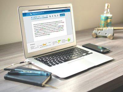 WhiteSmoke on a MacBook
