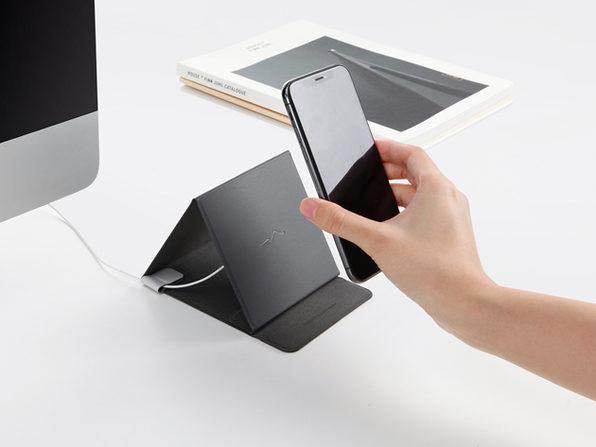 Ziistle Triangle Foldable Wireless Qi-Certified Charger: $29.74