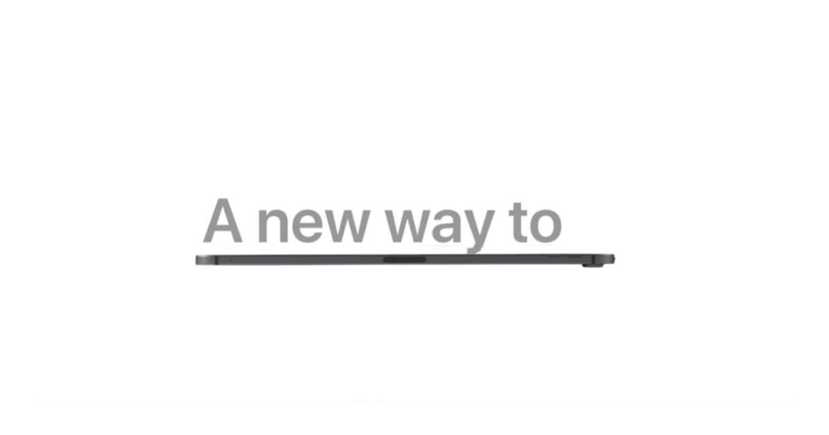 A New Way to iPad Pro