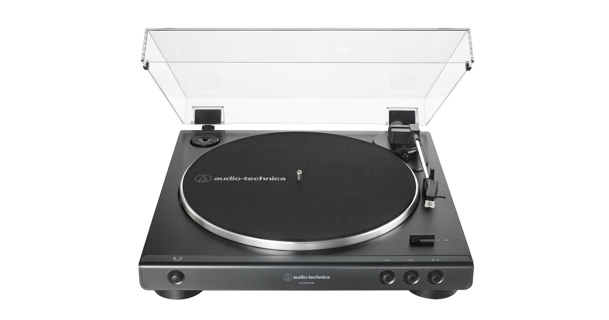 CES – Audio-Technica's New Analog and USB Connected Stereo Turntable