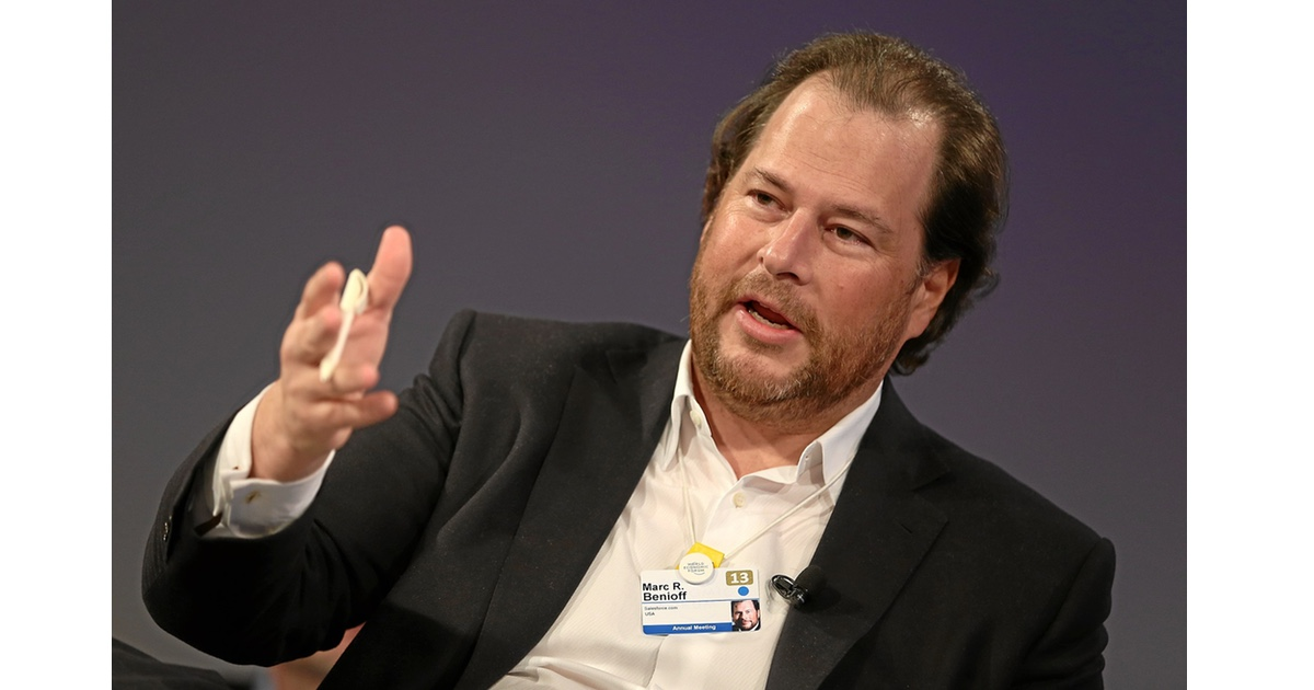 Salesforce's Marc Benioff Talks Time Off and Time Magazine