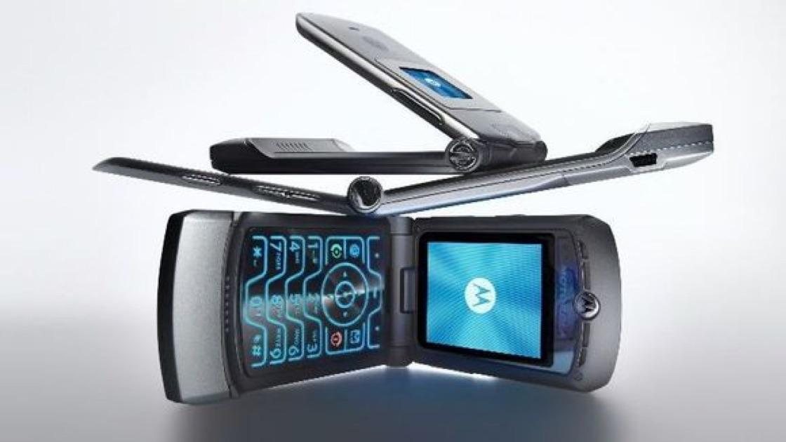 Motorola Razr Flip Phone Making a Comeback