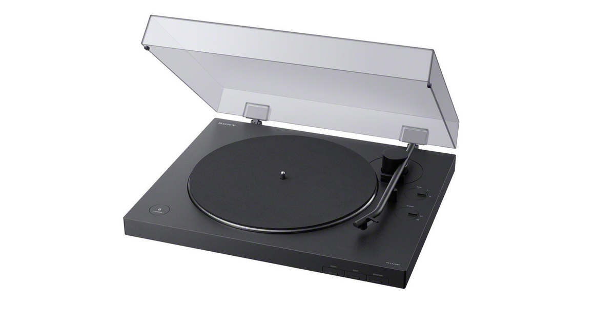 New Sony Wireless Vinyl Player Unveiled