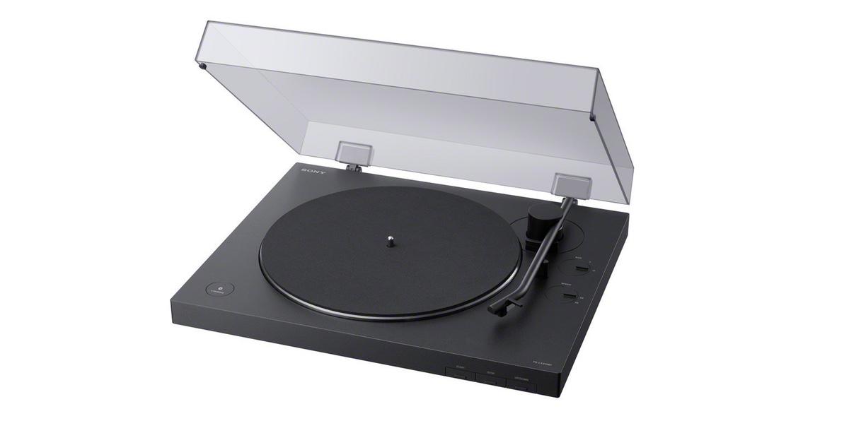 New Sony Wireless Vinyl Player Unveiled