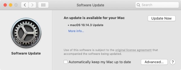 macOS System Prefs