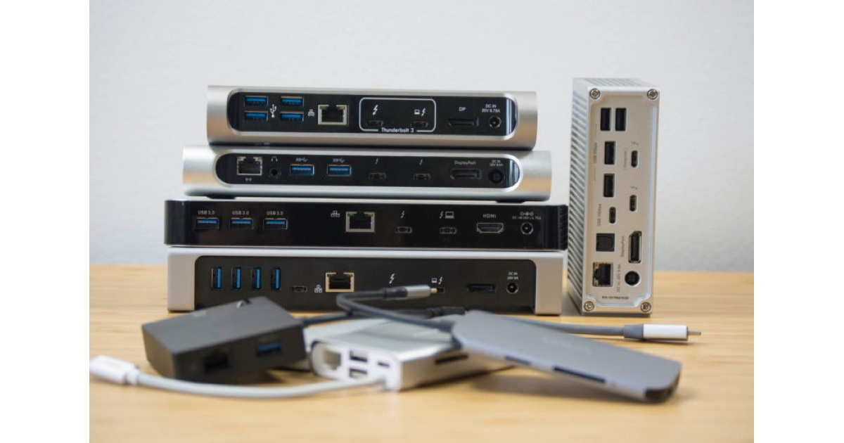 Thunderbolt 3 or USB-C Dock? Selection Guide