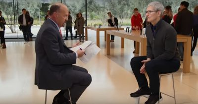 Tim Cook Jim Cramer
