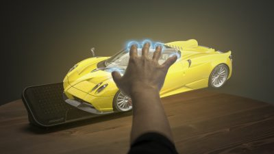 Ultrahaptics touchless control