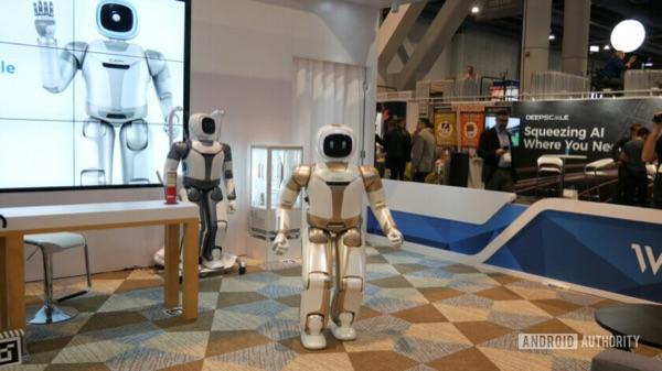 Walker robot from UBTech