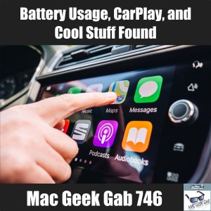 CarPlay with finger on it