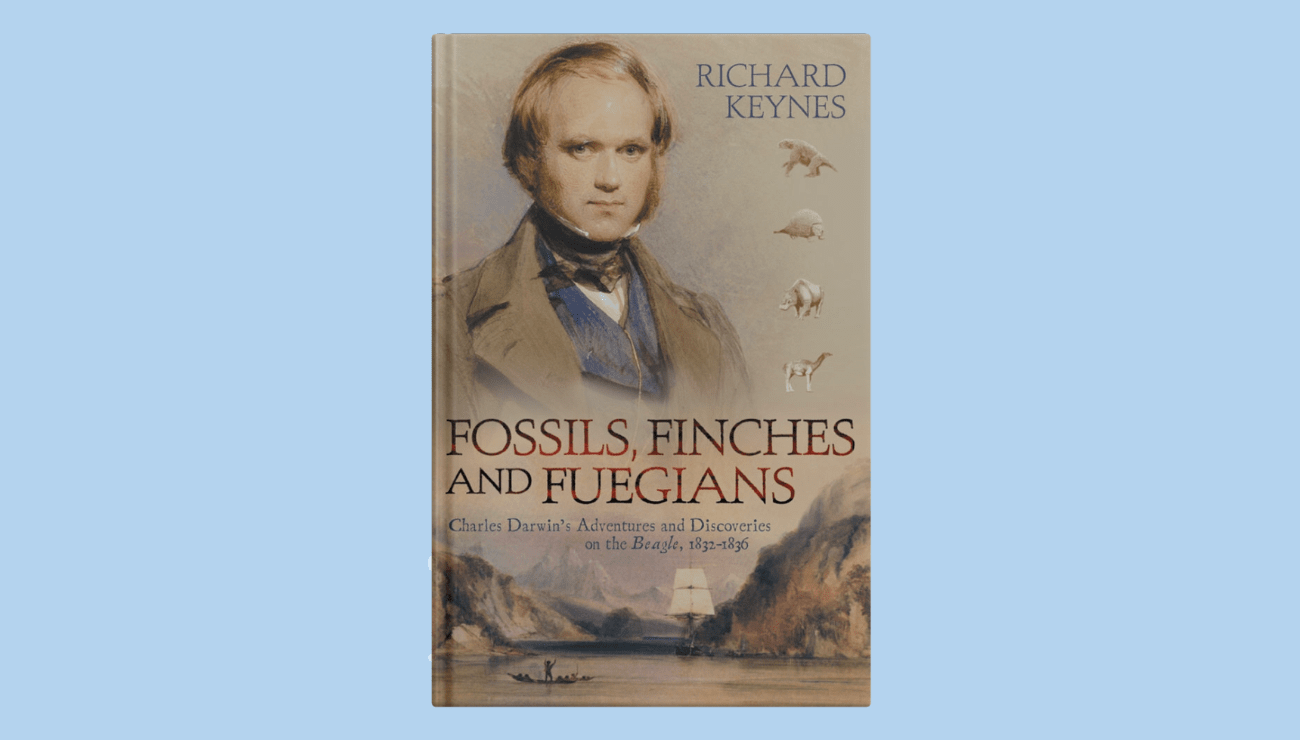 Book Sale: Fossils, Finches, and Fuegians for $1.99