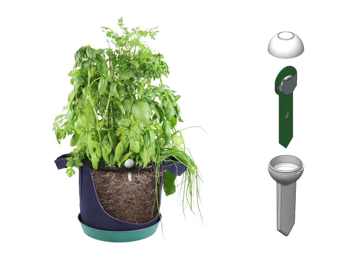 CES – Seedsheet Launches Garden Guru Soil Sensor