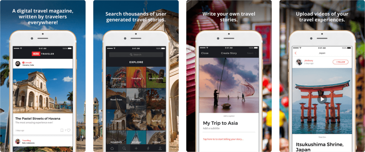 Hero Traveler is a new Social Platform for Millennial Travelers