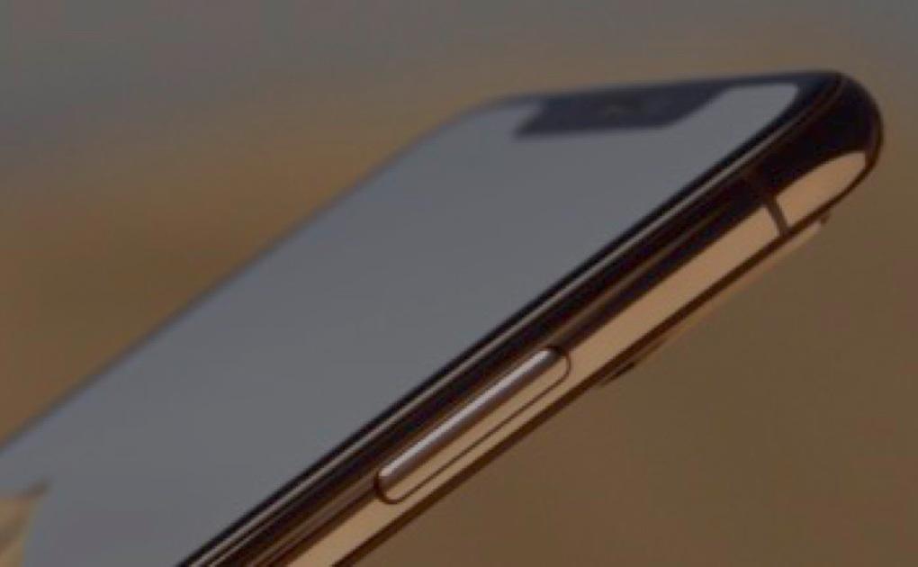 iPhone XS notch