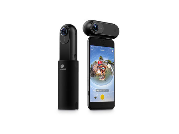 Capture Stunningly Smooth 360° 4K Footage with Insta360 ONE 4K Camera for iPhone: $239.99