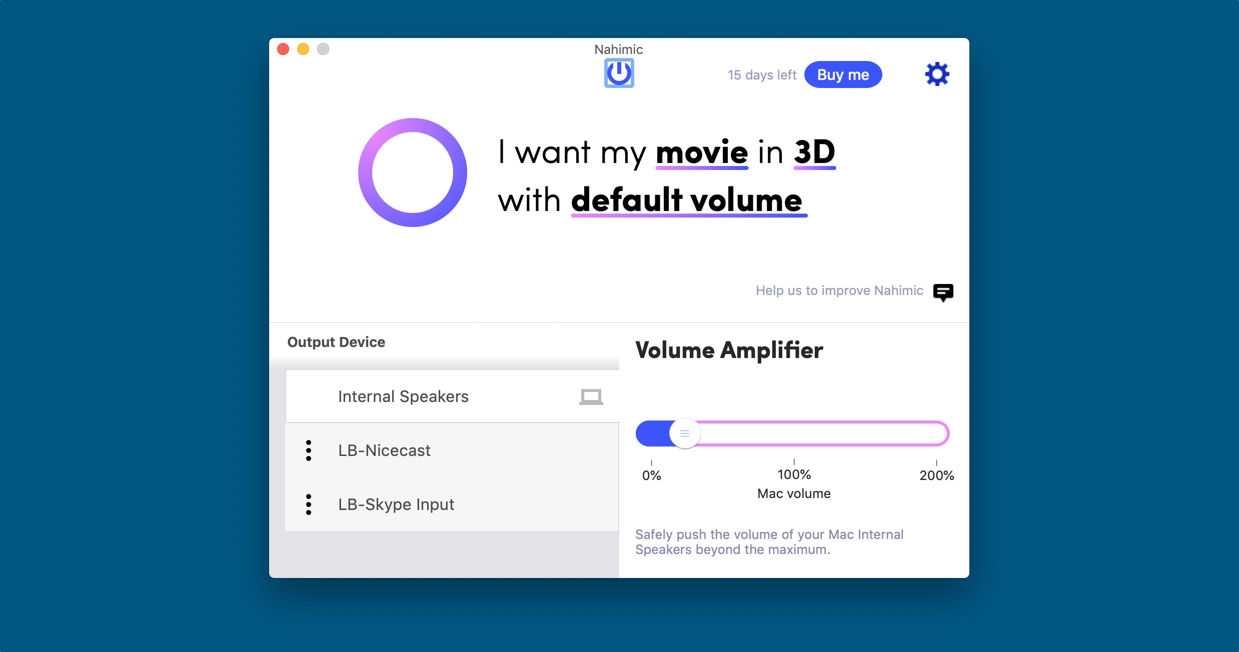 Nahimic Brings Enhanced 3D Audio To Your Mac's Movies and Music