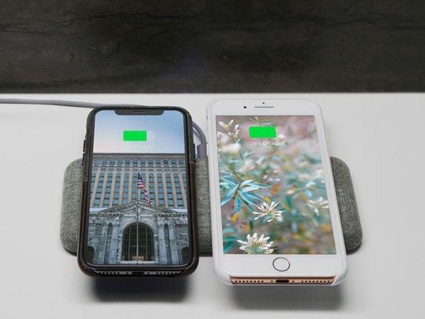 Nimble Eco-Friendly Wireless Dual Charging Pad
