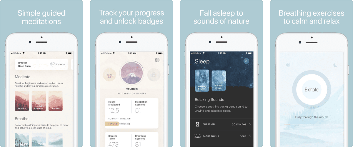 Oak Offers Simple, Guided Meditations
