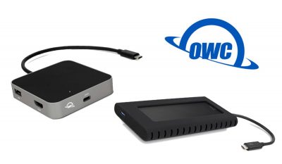 OWC's USB-C Hub and Envoy Portable SSD